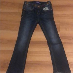 Girl's pants size 7 skinny boot cut